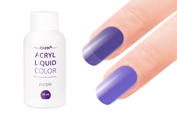 Jolifin Color Acryl-Liquid - purple 50ml