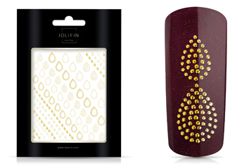 Jolifin LAVENI XL Sticker - Gold 10