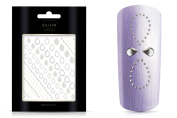 Jolifin LAVENI XL Sticker - Silver 10