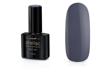 Jolifin LAVENI Shellac - dark grey 12ml