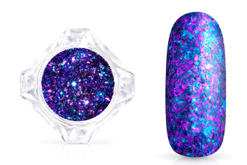 Jolifin LAVENI Mirror-Flakes - ocean berry