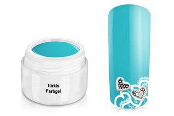 Farbgel türkis 5ml