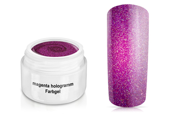 Farbgel magenta hologramm 5ml