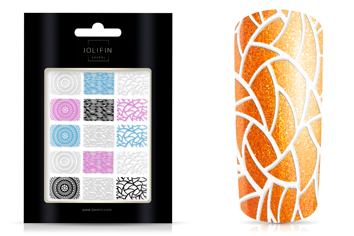 Jolifin LAVENI XL Sticker Wrap - Nr. 6 color