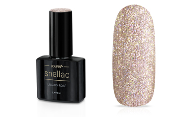 Jolifin LAVENI Shellac - luxury rosé 12ml