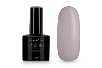 Jolifin LAVENI Shellac - warm taupe 12ml
