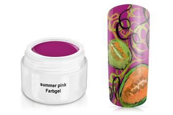 Farbgel summer pink 5ml