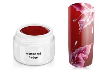 Farbgel metallic red 5ml