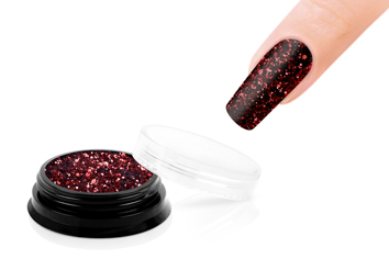 Jolifin LAVENI Sparkle Glitter - red