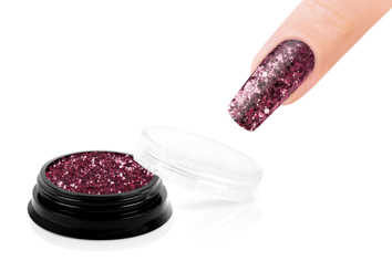 Jolifin LAVENI Sparkle Glitter - strawberry