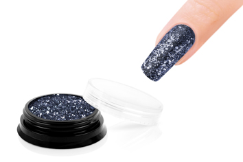 Jolifin LAVENI Sparkle Glitter - night grey