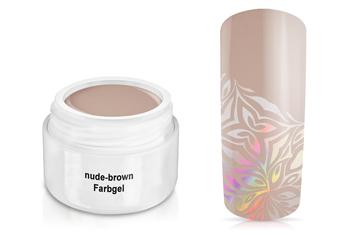 Farbgel nude-brown 5ml