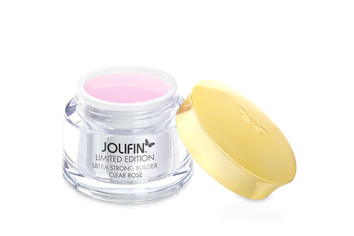 Jolifin Wellness Collection Ultra Strong Builder clear rose 15ml - Limited Edition