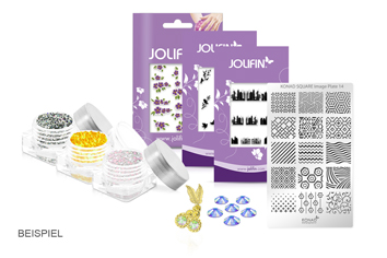 Jolifin Nailart-Set Surprise II - Januar
