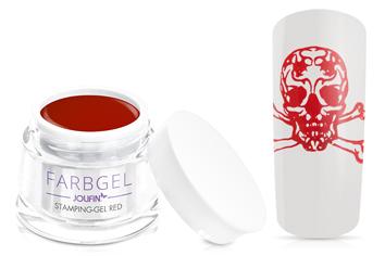 Jolifin Stamping-Gel - red 5ml