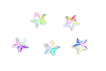 Jolifin LAVENI Strass-Diamond - stars moon irisierend