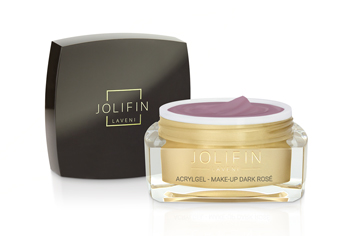 Jolifin LAVENI AcrylGel - make-up dark rosé 15ml
