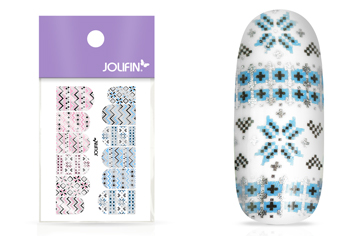 Jolifin Metallic Tattoo - Christmas Nr. 4
