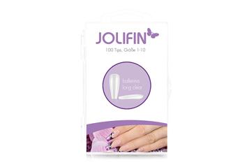 Jolifin 100er Tipbox Press-On Ballerina - long