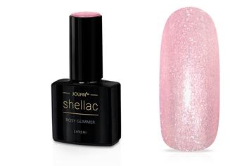 Jolifin LAVENI Shellac - rosy Glimmer 12ml