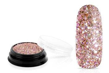 Jolifin LAVENI Luxury Glitter - elegance rose