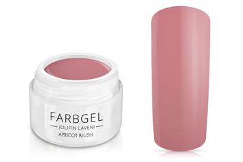Jolifin LAVENI Farbgel - apricot blush 5ml