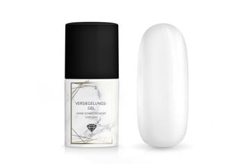Jolifin LAVENI PRO - Versiegelungs-Gel ohne Schwitzschicht silver shine 11ml
