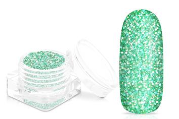 Jolifin Matt-Effekt Glitter - mint