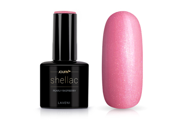 Jolifin LAVENI Shellac - pearly raspberry 12ml