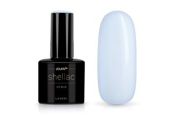Jolifin LAVENI Shellac - ice blue 12ml