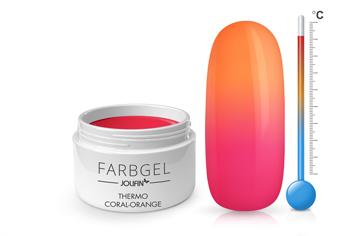 Jolifin Thermo Farbgel coral-orange 5ml