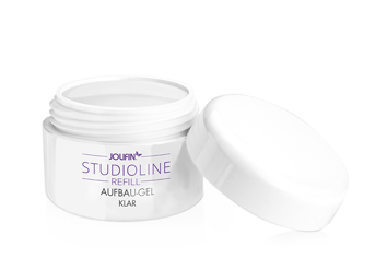 Jolifin Studioline Aufbau-Gel klar 15ml - Refill