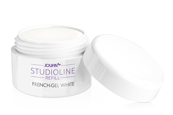 Jolifin Studioline French Gel white 30ml - Refill