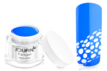 Jolifin Farbgel 4plus neon-blue 5ml