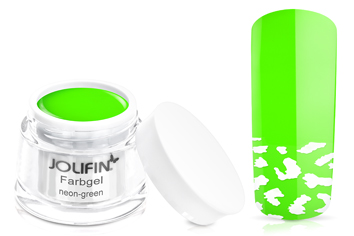 Jolifin Farbgel 4plus neon-green 5ml