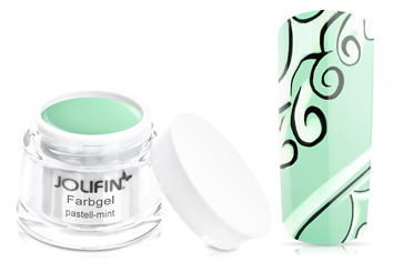Jolifin Farbgel 4plus pastell-mint 5ml