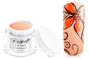 Jolifin Farbgel 4plus pastell-peach 5ml