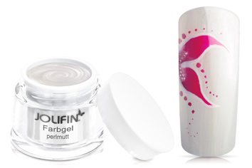 Jolifin Farbgel 4plus perlmutt 5ml