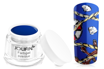 Jolifin Farbgel 4plus pure-blue 5ml