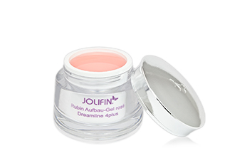 Jolifin Dreamline 4plus Rubin Aufbau Gel rosé 5ml