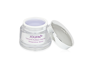 Jolifin Dreamline 4plus Diamond Aufbau Gel klar 5ml