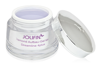 Jolifin Dreamline 4plus Diamond Aufbau Gel klar 15ml