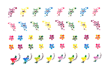 Jolifin Crazy Color Sticker 4