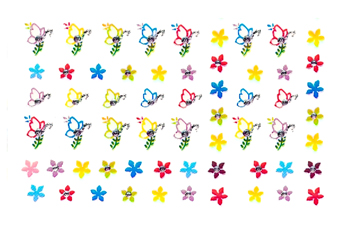 Jolifin Crazy Color Sticker 6