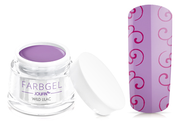 Jolifin Farbgel 4plus wild lilac 5ml