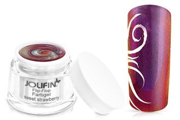 Jolifin Flip-Flop Farbgel 4plus sweet strawberry 5ml