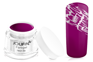Jolifin Farbgel 4plus neon-lila 5ml