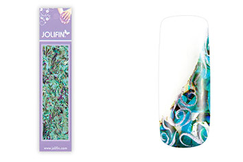Jolifin Nailart Seashell Wrap mint