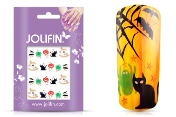 Jolifin Halloween Nailart Tattoo Nr. 3