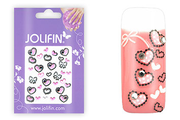 Jolifin Nailart Delight Sticker Nr. 2